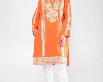 895ce35652 Khaadi Original Embroided Kurta Shirt with tags size 10 (Sana Safinaz, Maria  B, Asim Jofa, Khaadi, Pret wear) ORIGINAL NOT REPLICA