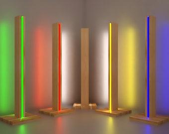 Rustic Wood Lamp Floor Lamps Rustic Lighting Wood Rustic | Etsy