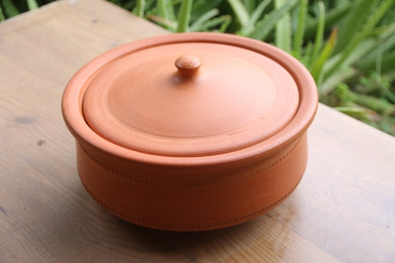 clay pot utensils Earthen Cooking Bowl Cookware Mud pot Clay pot Terracotta  Etsy