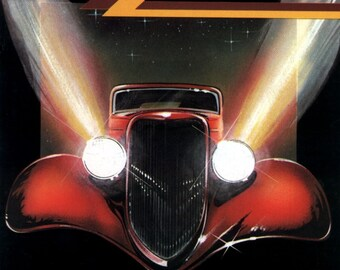 ZZ Top - Eliminator Album Cover Poster 24 X 24 inch