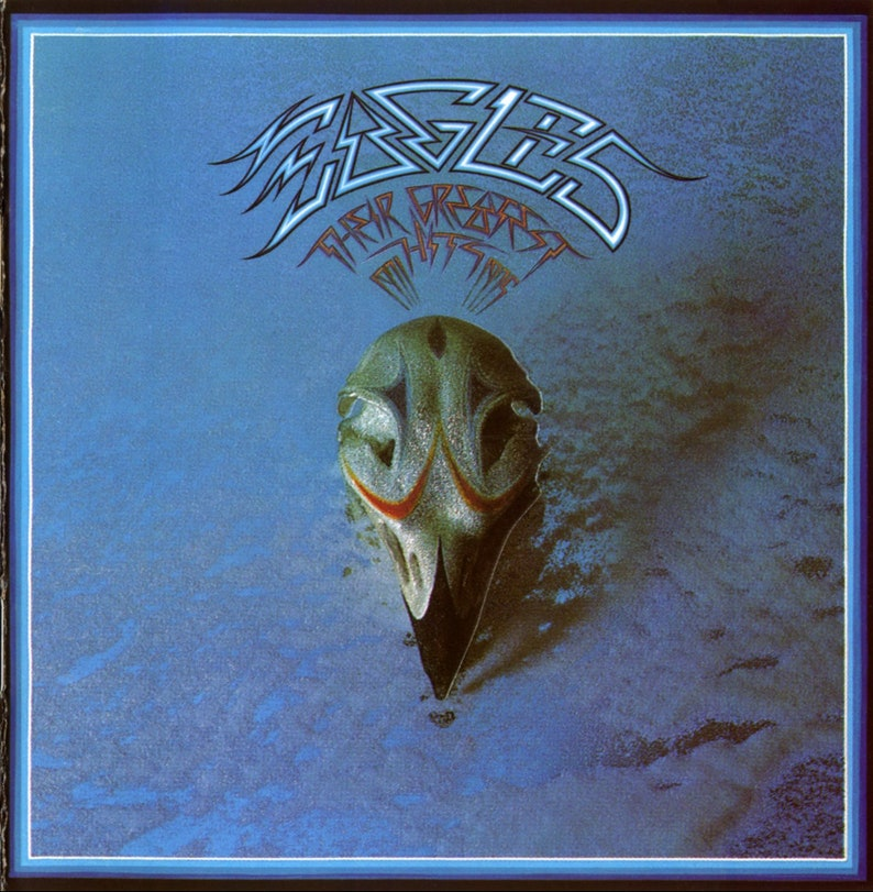 Eagles  Greatest Hits Album Cover Poster 24 X 24 inch image 0