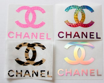 785b13b8c1acab Chanel logo iron on, cc logo heat transfer decal, chanel iron on patch, cc  i spired iron kn applique tshirt hoodie pillow designs