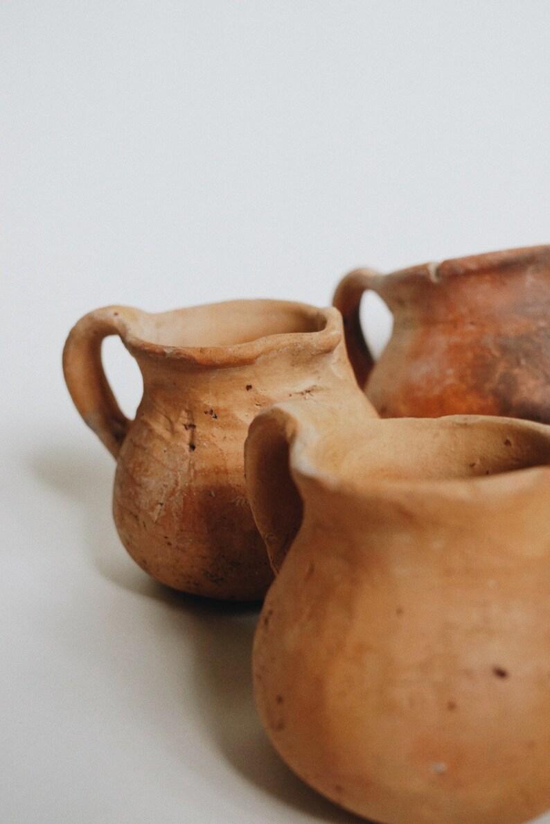 Earthenware  terracotta mini pitcher  outdoor planter  pot image 0