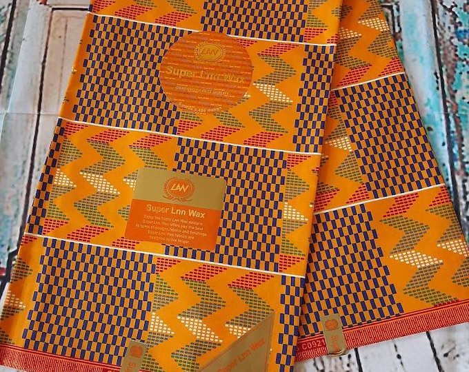 Kente Fabric Ankara Print Fabric Kitenge African Wax Print African Print Fabric 6 Yards Material 100/% Cotton High Quality Sewing