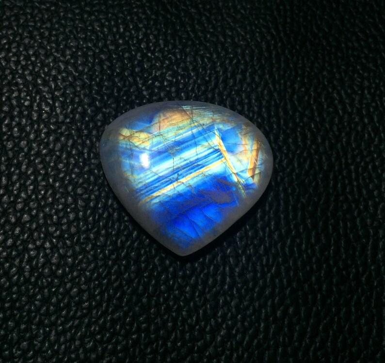 Size 33x30 mm 67.CT Rainbow Moonstone Cabochon 100/% Natural Designer Rainbow Moonstone Loose Gemstones