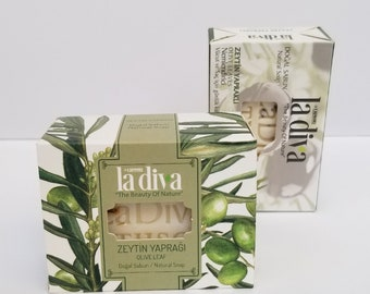 Olive Leaf | Granuli Hand And Bath Soap 100 Gr And 155 Gr