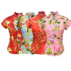 What Did Women Wear in the 1950s? 1950s Fashion Guide Tea Timer Blouse - Hostess Top - Ladies Blouse - Ladies Top $93.49 AT vintagedancer.com