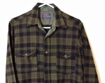 Vintage genuine 1970s Pendleton wool flannel button-down