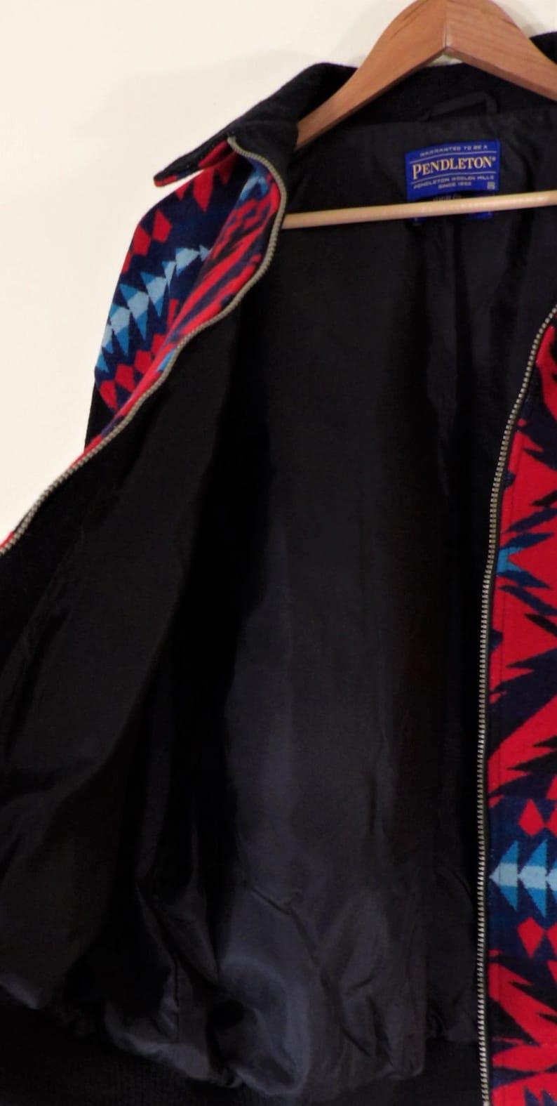 Unworn Discontinued Pendleton High Grade Western Wear Wool Diamond Desert Navajo Lined Bomber Jacket Men/'s Chest 56