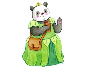 CUSTOM Character Design Illustration | Children's Book, Fiction, Fantasy, Animal Characters | Original Handmade Personalized Watercolor Art