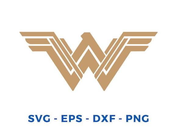 New Wonder Woman SVG file for cricut machines, cricut files, silhouette files, instant download, New Wonder Woman Logo