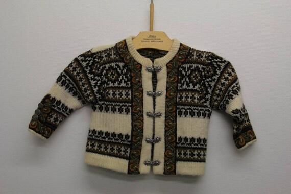 Norwegian wool sweatshirt for kids
