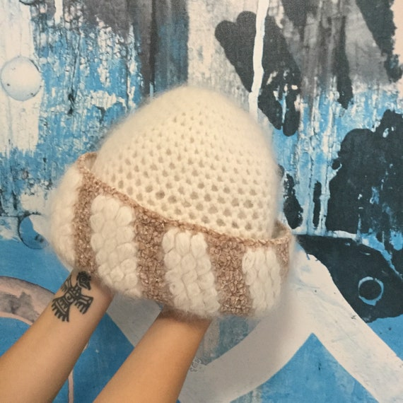Italian Angora Winter Hat VINTAGE