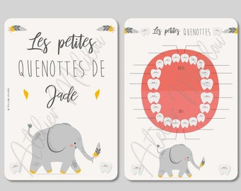 """Cards """"my little quenottes"""""""