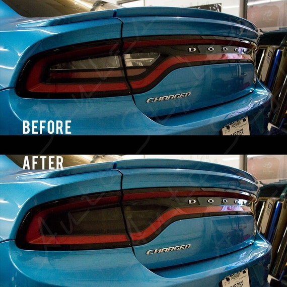 Smoked tint tail light overlay overlays Chevrolet Camaro SS RS 2010-2013