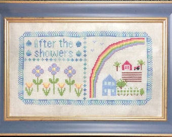 "Cross Stitch Chart ""After the Showers"""