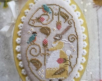 Spring Serenade cross stitch chart by With Thy Needle and Thread