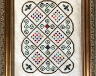 "Cross Stitch Chart ""Bramble"""