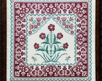 Dorney Lane cross stitch chart from Rosewood Manor