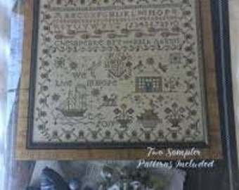 We Live in Hope cross stitch chart by Blackbird Designs