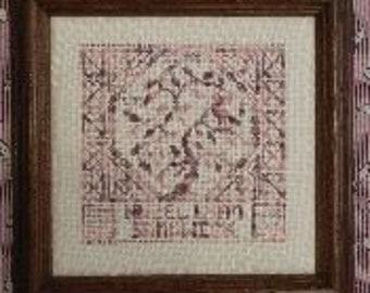 Quaker Birth Sampler from Rosewood Manor
