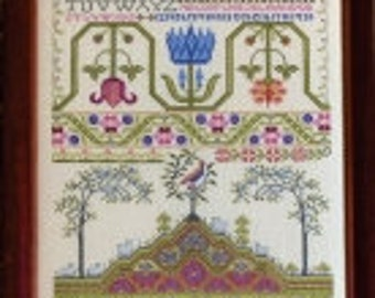 Springhill cross stitch chart from Rosewood Manor