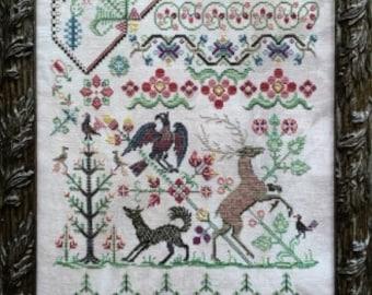 Hunter Gatherer cross stitch chart from Rosewood Manor