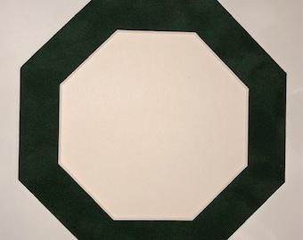 Green Mat Board Frame
