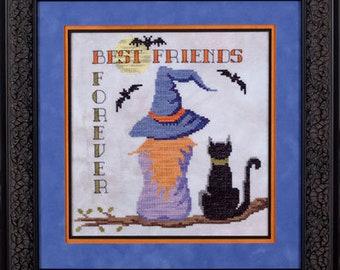 Best Friends Forever cross stitch chart Village Home Series #2