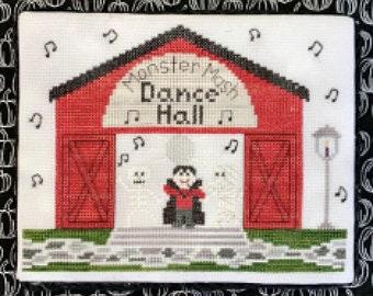 Dance Hall cross stitch chart by Little Stitch Girl