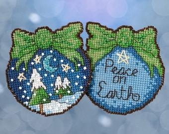 Peace on Earth Mill Hill Sticks Kit