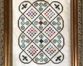 """Cross Stitch Chart """"Bramble"""""""