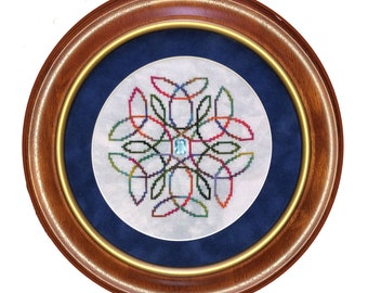 """Cross Stitch Chart """"Helix"""""""