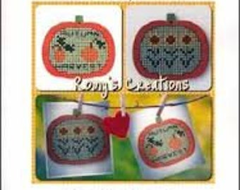 Stitch in Wood Pumpkin Kit by Romy's Creations