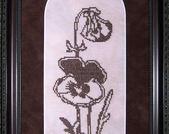 Floral 3 Cross Stitch Chart PDF Download