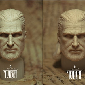 Trophy heads of the Harpy scale 1//6 The Witcher