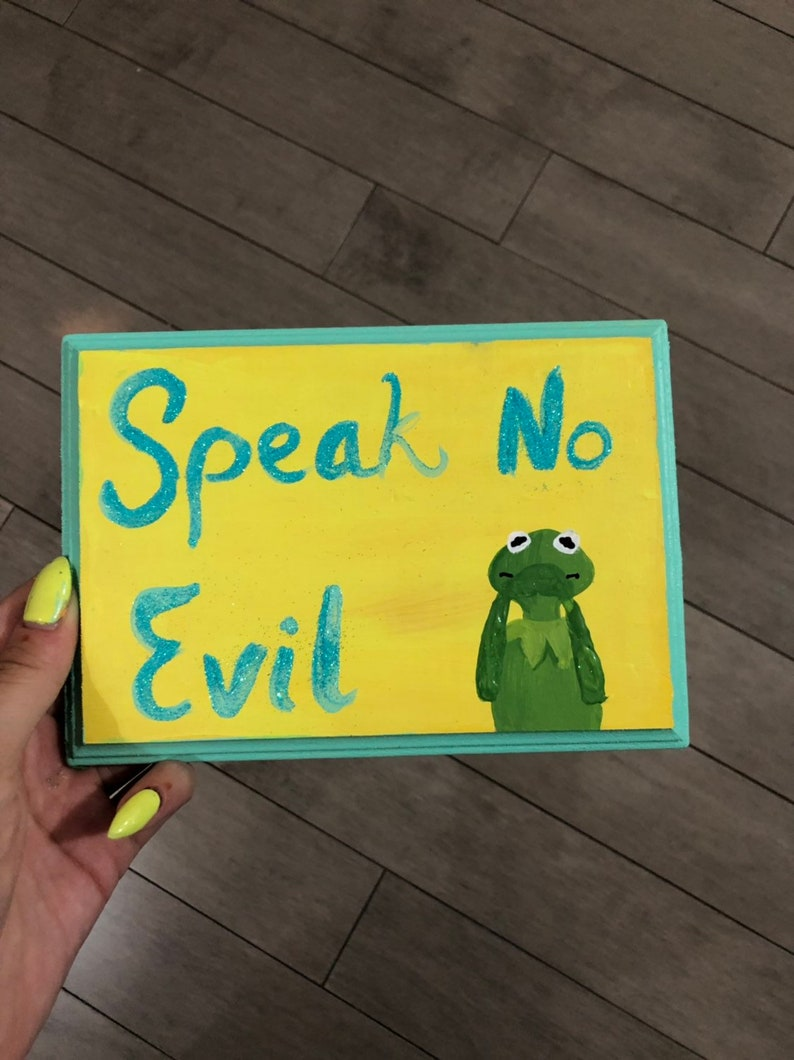 Speak No Evil Kermit