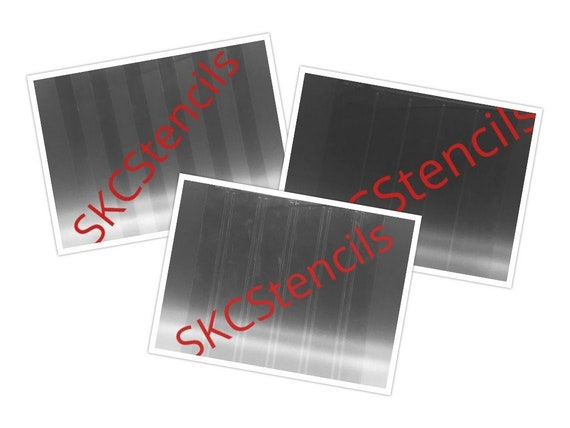 Three-Part Plaid Stencil