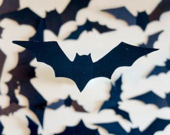 Waterproof Pop-Up Halloween Bats - Plastic Halloween Decor, Bat Decor, Halloween Wall Decor, Bat Cutout, Pop-up Bat, Wall Bats, Outdoor Bats