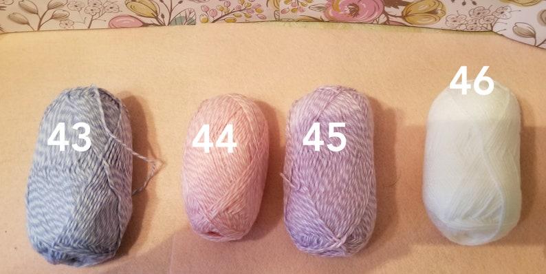 Crocheted baby hat