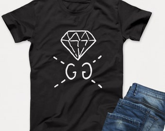 888d8b442 Gucci Shirt, Gucci Ghost Diamond TShirt, Branded shirt, Designer Tshirt  Gift Men Women