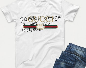 9721530a9874 Gucci Common Sense Shirt, Gucci Captain Coco TShirt, Branded shirt,  Designer Tshirt Gift Men Women