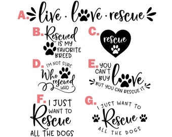 """Dog Decal Rescue Labrador Decal Sticker Ying Yang 6/"""""""