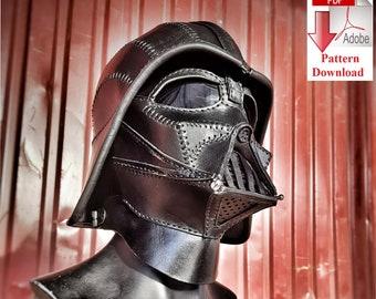 Pattern PDF leather Dart Vader