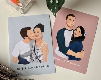 Couple Painting Etsy