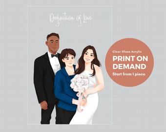 Print on Demand Poster, Print on Demand Clear Acrylic Print, Print on Glass