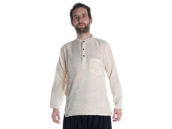 Children Clothing Pure Cotton HEMAD Kids Medieval Tunic Brown-Green-Beige