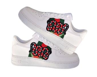Gucci Custom Nike Air Force 1 | Nike Shoes | Scarpe gucci
