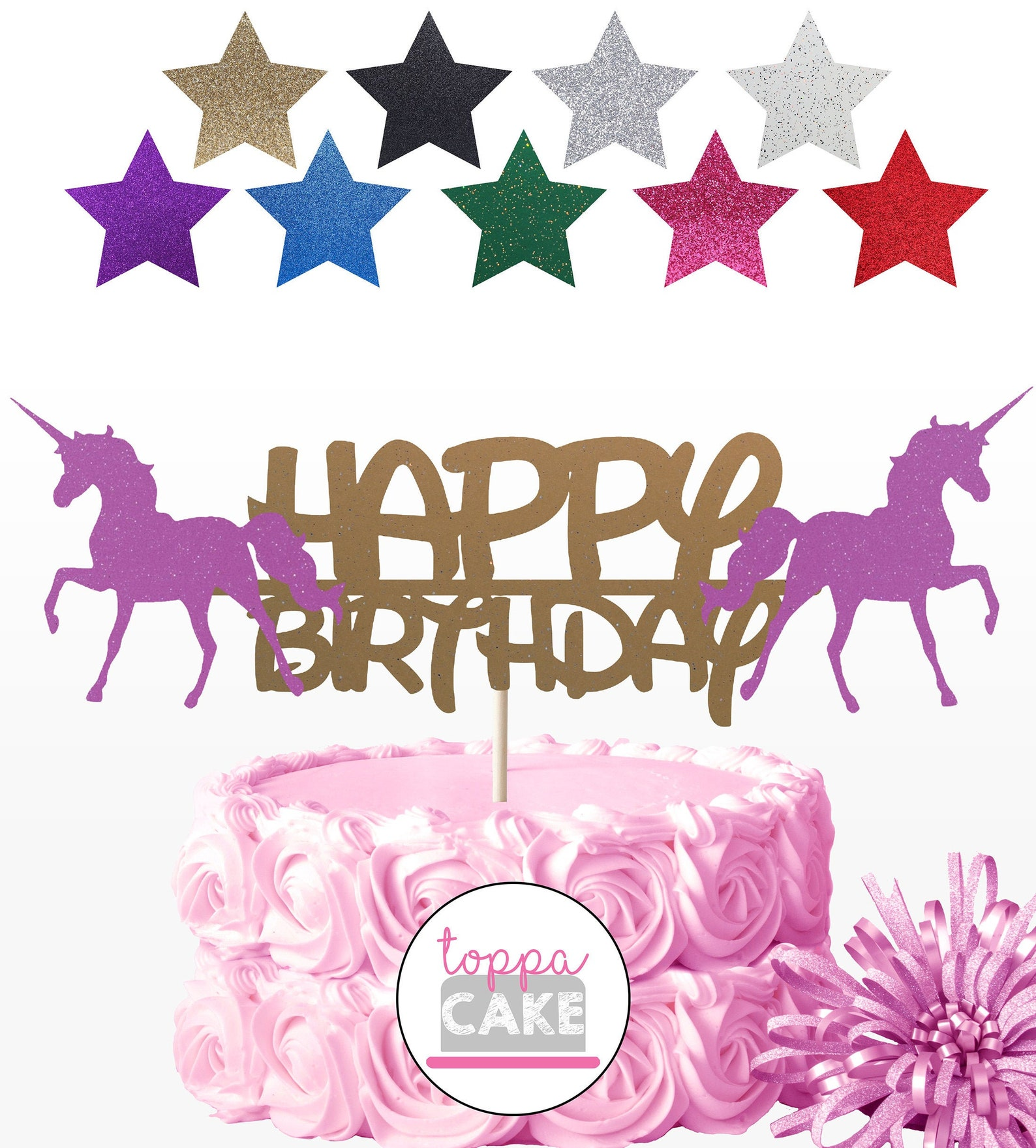Unicorn Cake Picks Page Two