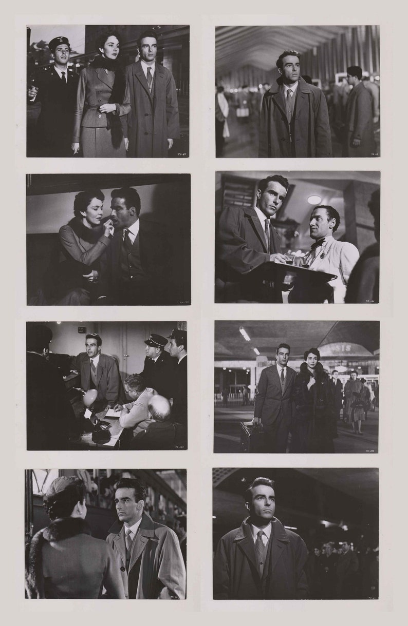 Production Stills Montgomery Clift Dated 1954